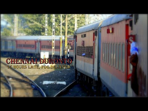 DELHI to CHENNAI By Duronto Express | 15 Hours Fog Delayed Duronto - Part 2 | INDIAN RAILWAYS