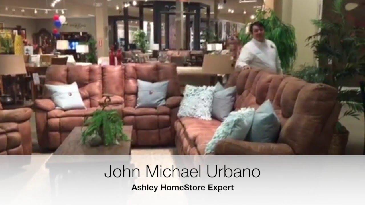 Ashley HomeStore Expert John Michael Urbano W: The Darshmore Collection