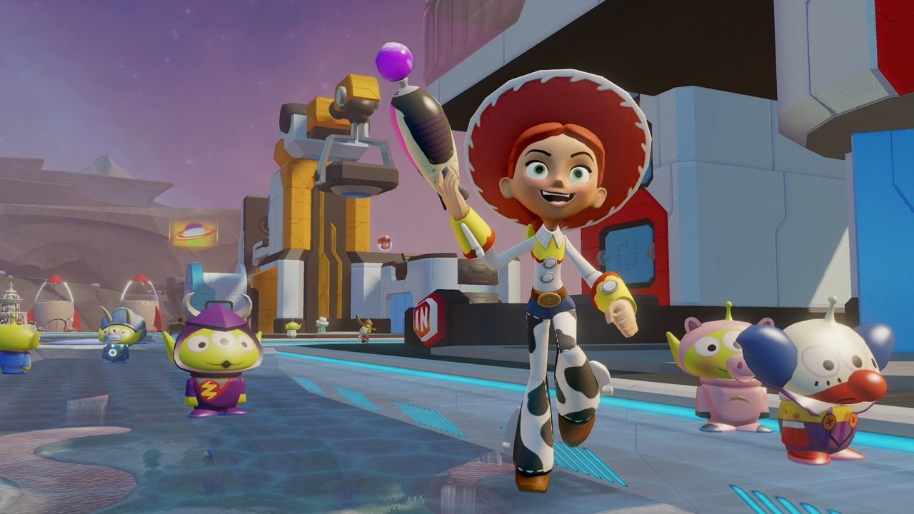 Toy Story Games Play Now : Disney infinity toy story in space part youtube