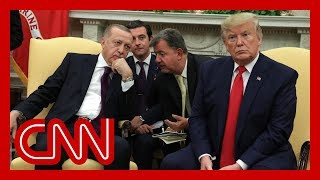 Erdoğan showed GOP senators and Trump propaganda video during WH meeting