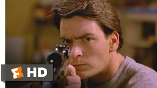 Men at Work (4/12) Movie CLIP - The Pellet Gun (1990) HD