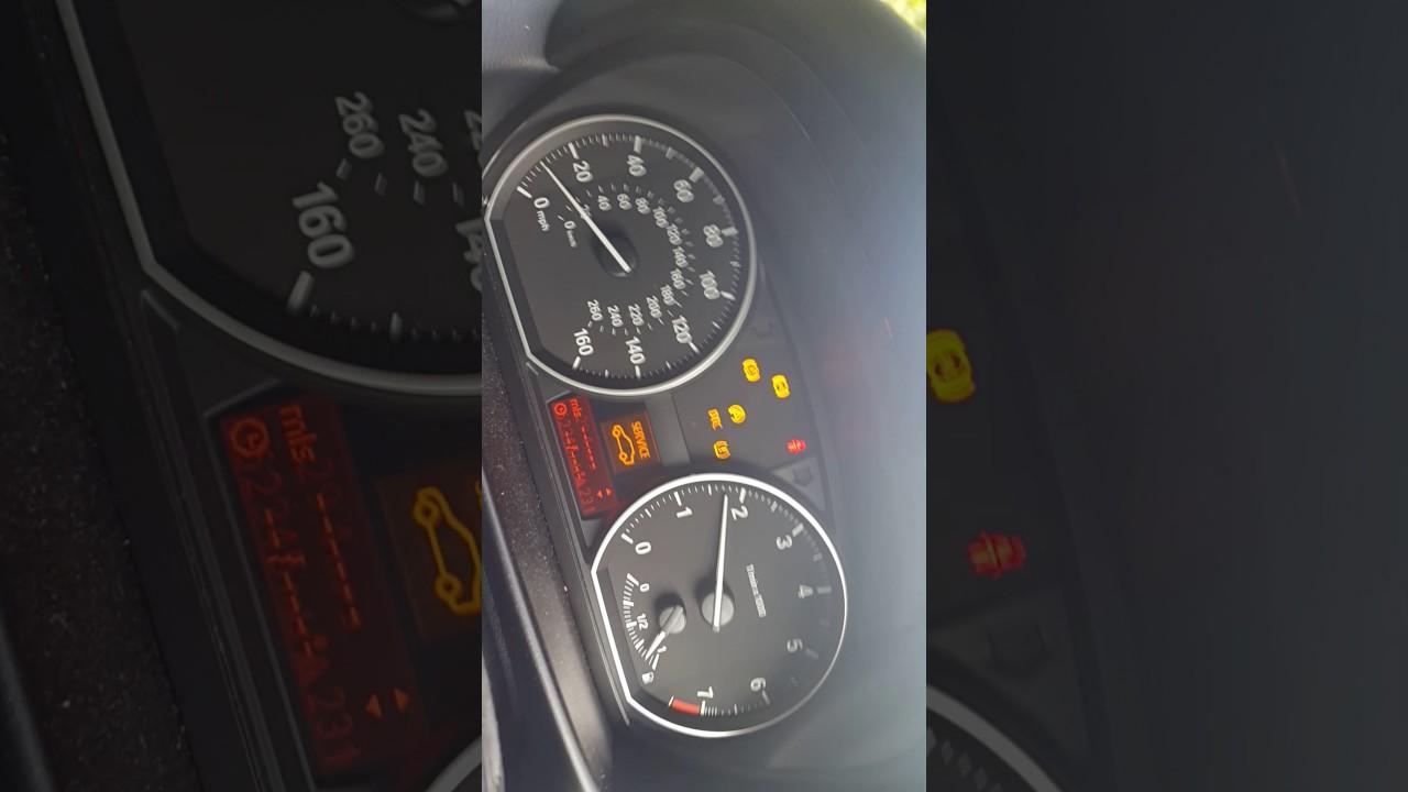 Bmw E88 1 Series Dash Lights And Needles Going Crazy