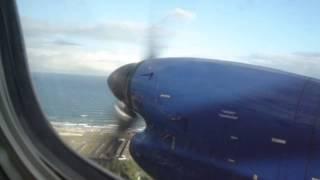EMB 120 da Passaredo - Decolagem de Salvador e pouso em Barreiras