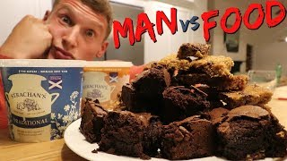 MAN vs PARTY FOOD (again) | Epic Dessert | Full Day of Eating