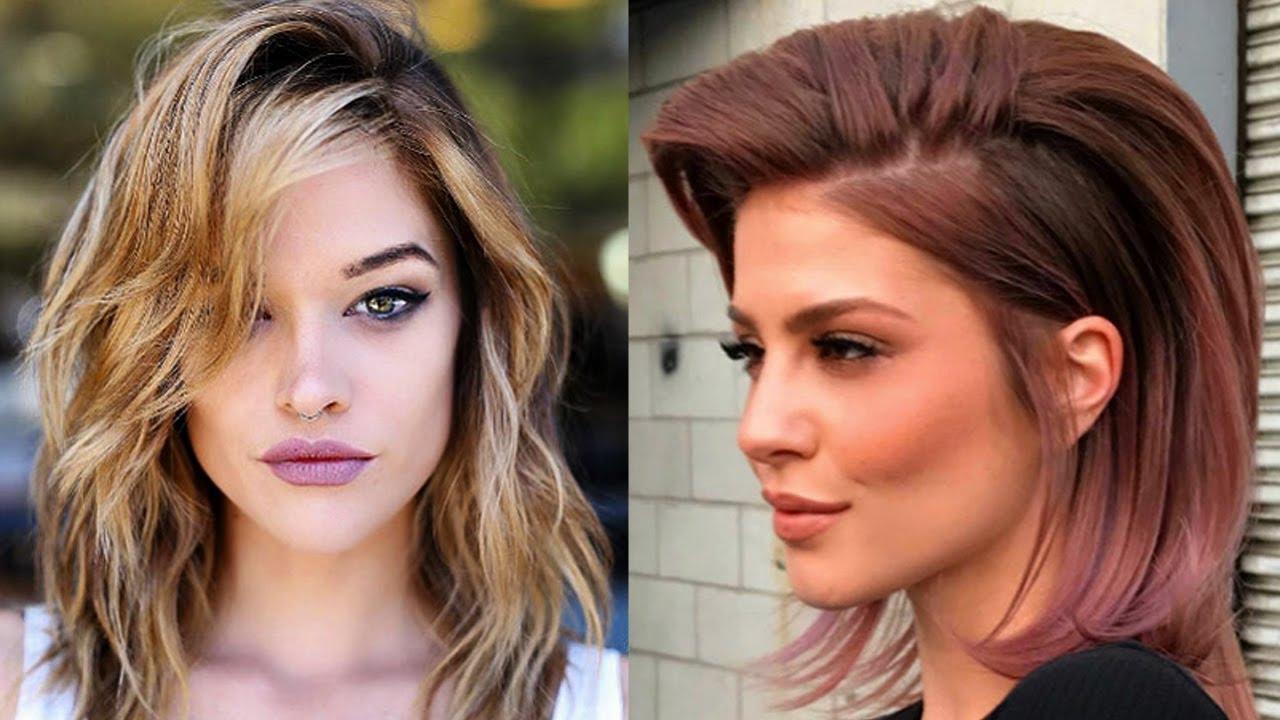 cortes de pelo mediano para mujer en capas 2018 moda para mujer tv cortes de cabellopelo 2018 - Cortes De Pelo Mediano