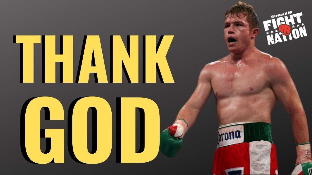 Canelo Alvarez Shuts Down MMA Fighter vs. Boxer Talk | Luke Thomas