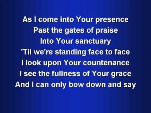 Awesome in this Place worship video w  lyrics