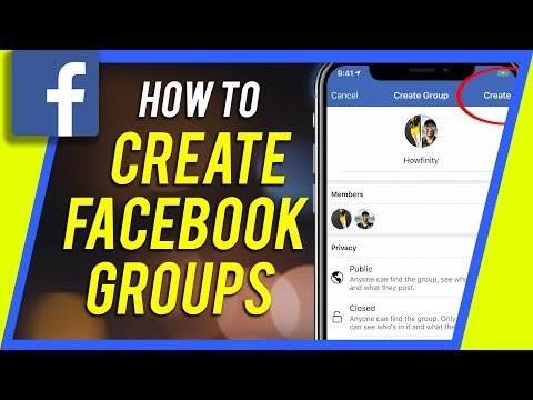 How To Create A Facebook Group On IPhone