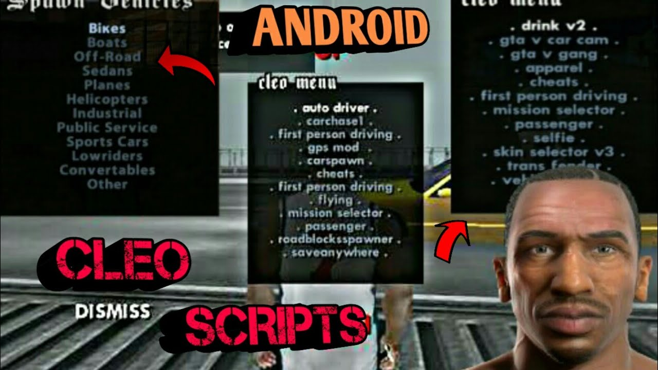 Best Cleo Scripts 2018|celo Script|advance Cleo mod 2018 Android|advance  Celo Scripts gta sa Android