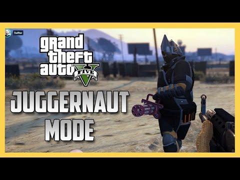 New Juggernaut Adversary Mode in GTA 5!