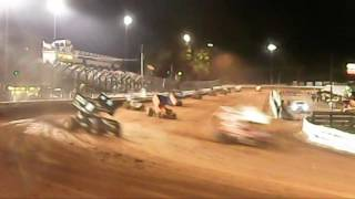 Williams Grove Speedway 410 Sprint Car Highlights
