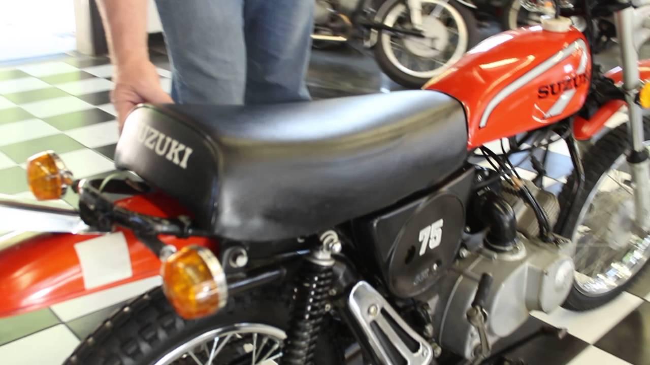 1975 Suzuki Ts75 Youtube Motorcycle 6 Volt Wiring Diagram