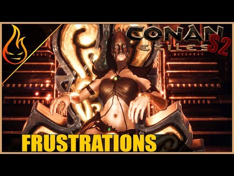 Witch Queen And Thralls Conan Exiles 2018 Gameplay S2 Ep7