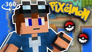 Cherrygrove City! Pokémon - Minecraft VR/360° Roleplay
