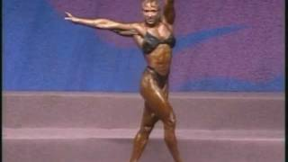 Laura Creavalle 1993 Ms. Olympia