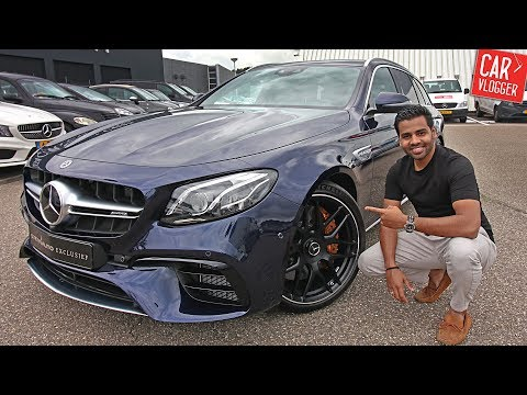 INSIDE the NEW Mercedes-AMG E63s Estate 2017 | Interior Exterior DETAILS /w REVS