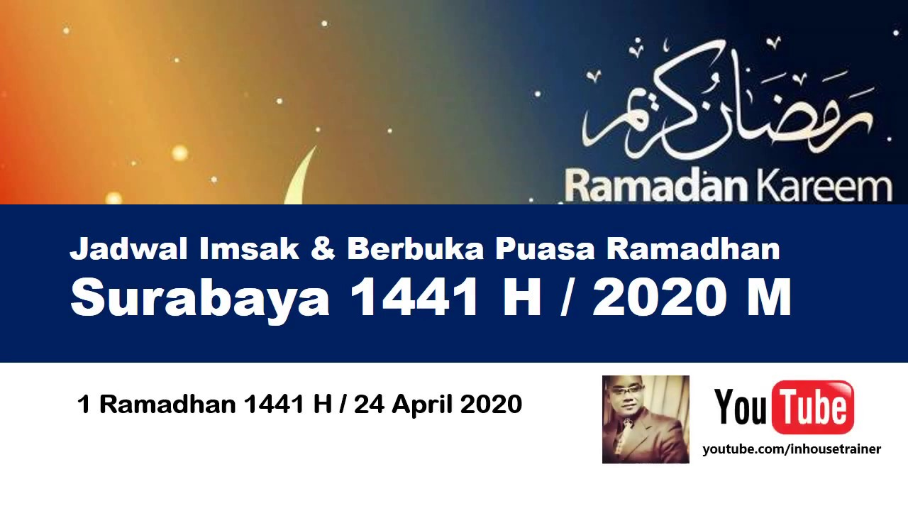 Wilayah SURABAYA - Jadwal Imsak Berbuka Puasa Ramadhan ...