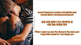 Video Taemin - Hypnosis (Rom-Han-Eng Lyrics) download MP3, 3GP, MP4, WEBM, AVI, FLV Agustus 2018