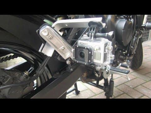 Diy Footrest Gopro Mount On Motorcycle By Frank Gopro