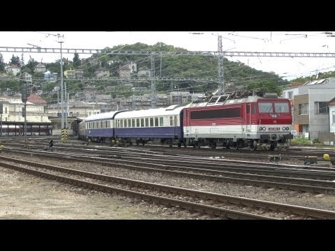 "Luxuszug "" Danube Express "" Budapest - Wien - Bratislava - Prag - Krakow mit ZSSK 362 004-4"