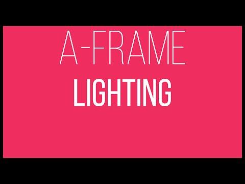 A-Frame WebVR Tutorial 7 - Lighting