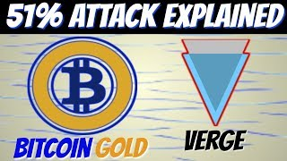 51% Attack Explained | Bitcoin Gold and Verge Recent Hack (Crypto)