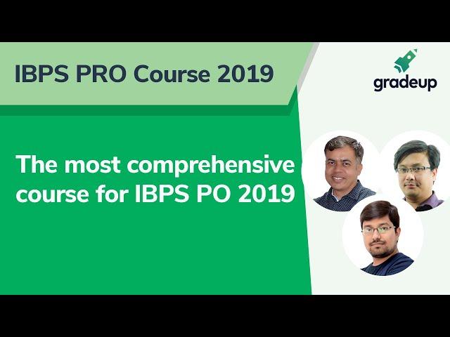 IBPS PRO Course 2019 Launch