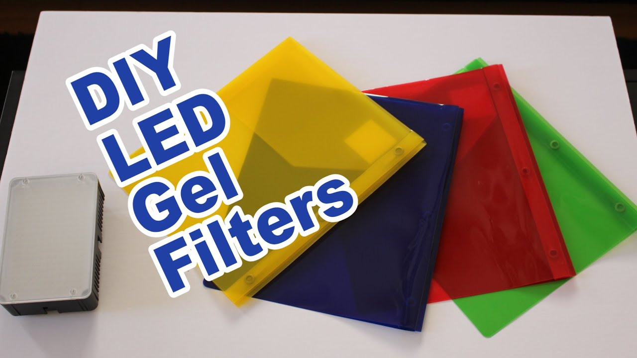 Super Cheap Diy Led Gel Filters Youtube