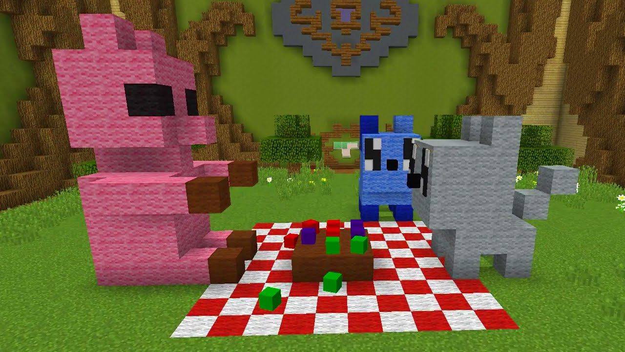 Kawaii Builds In Minecraft