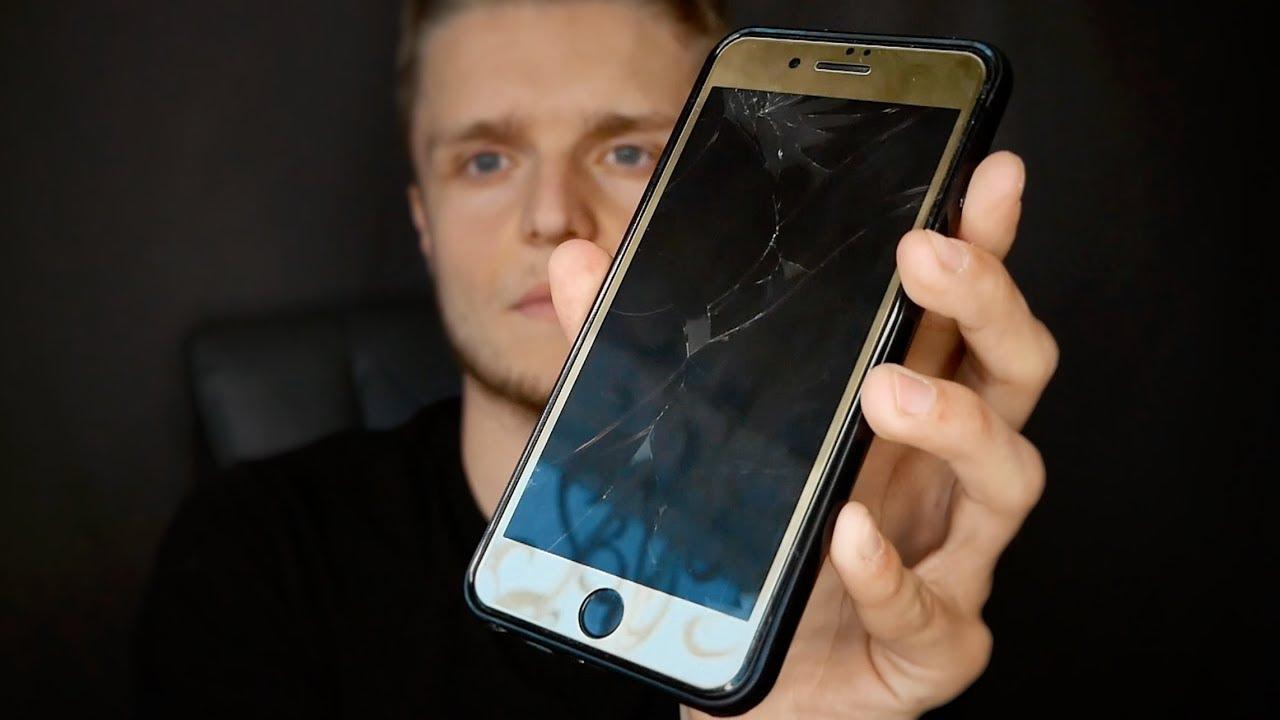 картинки если разбил телефон