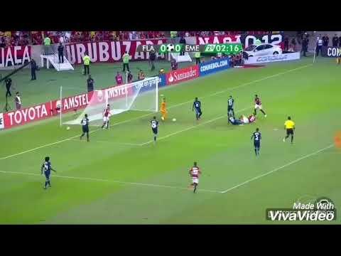 Flamengo 2-0 Emelec, relato de La Radio Redonda 99.3 FM Guayaquil - Ecuador