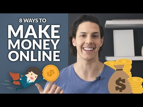 8 PROVEN Ways To Make Money Online! | How to earn a passive income from home