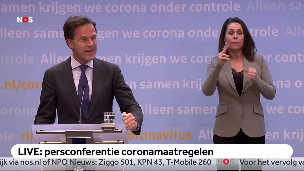 Persconferentie Premier Rutte En Minister De Jonge 7 April
