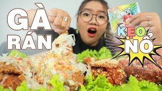 Gambar cover BANH MIỆNG VỚI GÀ RÁN KẸO NỔ SIÊU KÌ DỊ | POPPING CANDY CHICKEN EATING | THÁNH ĂN TV