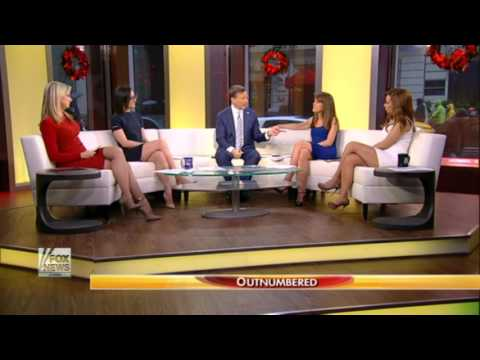 Julie Roginsky (damn!) & Lisa Kennedy & Sandra Smith hot legs - Outnumbered - 29/12/16