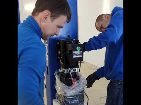 Поставка оборудования NORDBERG и монтаж подъемника 4121H