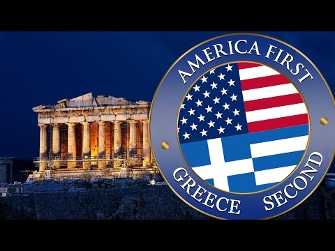 America First. GREECE SECOND! (Official)
