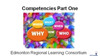 Competencies - The Who, What, When, Where and Why...