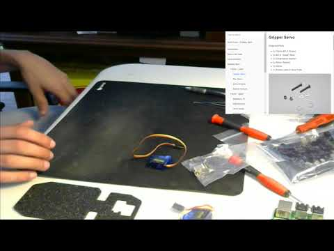 Plug Geek Rover Build - Assembly - Day 2 - @robotics