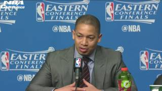 Tyronn Lue Postgame Interview   Cavaliers vs Celtics   Game 2   May 19, 2017   NBA Playoffs