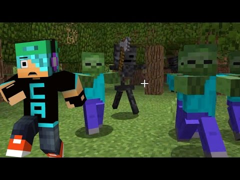 Zombie Survival / Rejected Mineplex Mini Game / Minecraft