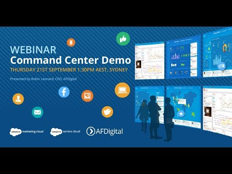 Salesforce Command Center Demo
