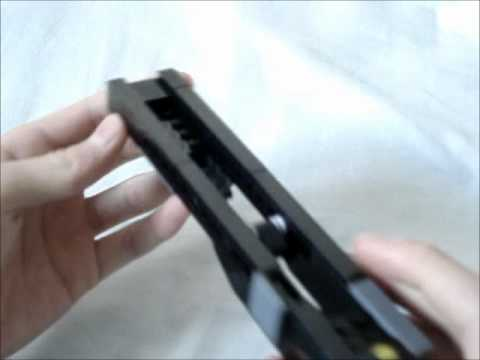 Lego Glock 19 Instructions Part Ll Youtube