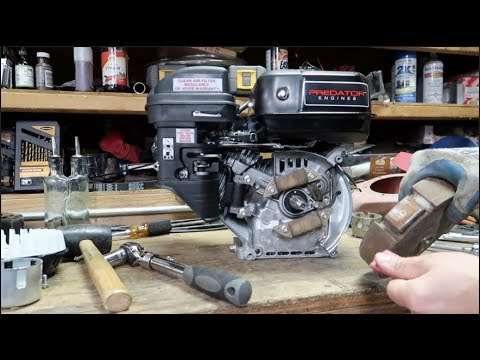 powering 12v headlight with 212cc predator engine youtube. Black Bedroom Furniture Sets. Home Design Ideas