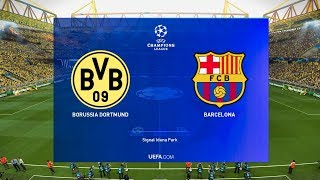 This video is the gameplay of borussia dortmund vs barcelona (com com) ucl 2019/20 if you want to support on patreon https://www.patreon.com/pesme suggest...