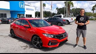 Is the NEW 2020 Honda Civic Sport Hatchback the PERFECT compact car?