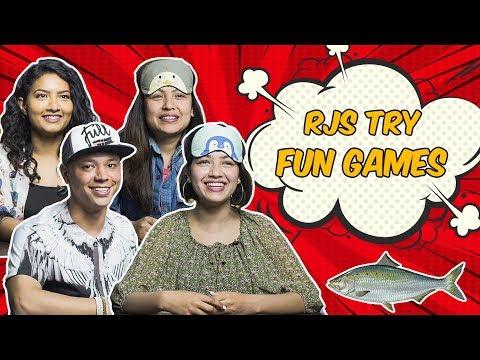 | RJs Try Fun Games | Radio & TV Personalities |