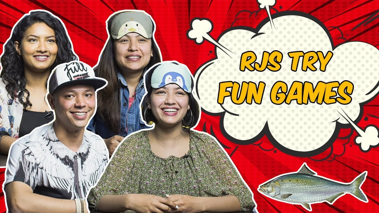 | RJs Try Fun Games | Radio & TV Personalities |