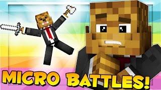 Mega Battles or Micro Battles? (24 Players) - Minecraft