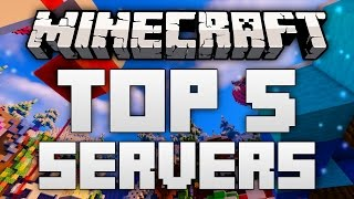 Top 5 Minecraft Servers (Minecraft 1.12/1.11.2) - 2017 [HD]
